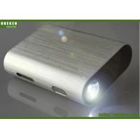 China LED Flashlight Usb Rechargeable High Capacity 9000mAh Power Bank With Led Torch wholesale