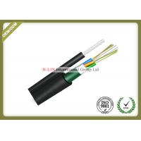 China Figure 8 Self Supporting Outdoor Fiber Optic Cable For Aerial With Steel Tape wholesale