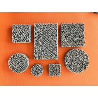 Buy cheap High Porosity Sponge Filter Material Three Dimensional Connected Mesh Structure from wholesalers