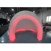 Buy cheap 3m White Oxford Cloth Inflatable Bubble Igloo Dome Tent With Led Light from wholesalers
