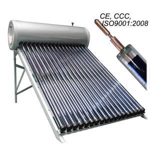 China 200liter high pressure vacuum tube solar water heater on sale