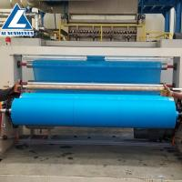 Al -2400mm Sms Pp Spunbond Nonwoven Fabric Making Machine For Polypropylene Fabric