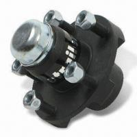 China Trailer Hub Assembly, 5,200/6,000 lb Axle, 6 on 5-1/2 Inches Bolt Pattern, Includes Bearings, Races wholesale