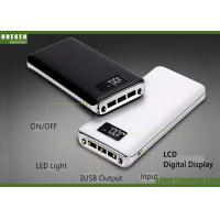China 8000mah LCD Display Power Bank , Mobile Rechargeable Portable Power Bank wholesale