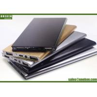 China Aluminum Alloy Polymer Portable Slim Power Bank Fast Charging For Mobile Phones wholesale