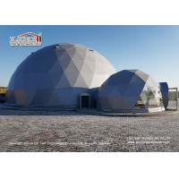 Buy cheap Flame Retardant 20m Geodesic Dome Tent for 500 People Event Center and Wedding from wholesalers