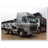 China CHINA Howo  375 HP / 420 HP  heavy prime mover / tractor head  with air deflector and ABS wholesale