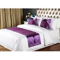 China 5 Star Hotel Style Bed Runners High Grade Noble And Graceful wholesale