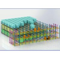 China Supply Chain Pallet Shuttle System For Beverage / Medicines / Wine Storage wholesale