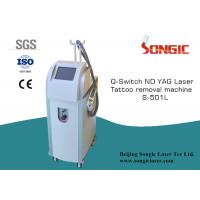 China ND YAG Laser Tattoo Removal Machine for pigmented particles, age spots, birth mark on sale