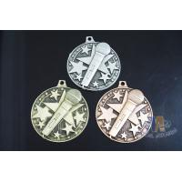 China Die Casting Custom Metal Engraved Music Medals, 3D Design With Gold Silver Copper Plating wholesale