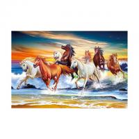 China 40*60cm 3D Image Poster Large Size Animal Horse Pictures Wall Prints wholesale