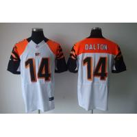 China Nike NFL Cincinnati Bengals 14 Andy Dalton white Elite jersey wholesale