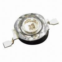 Buy cheap A Bright High-power SMD LEDs in 1W Series, with Water Clear Lens Color and from wholesalers