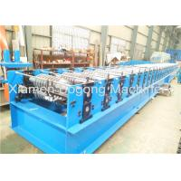 China Steel Metal Roof Panel Roll Forming Machine 75mm Shaft Diameter 14000*1550*1550mm Size wholesale