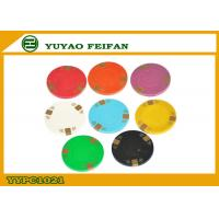 China 3 Block And Line Clay Composite Poker Chips Engraved Poker Chips wholesale