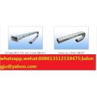 Buy cheap CNC Machine tool accessories--Rectangular metal hose conduit protection sleeve from wholesalers