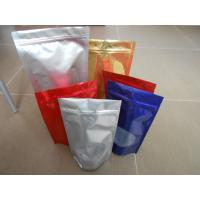 China Custom Snack Bag Packaging , BOPP / LDPE Stand up Ziplock Mylar Food Bags wholesale
