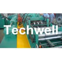 China YX-86-194-312 W Beam Guardrail Roll Forming Machine For 2 - 4mm Material Thickness wholesale
