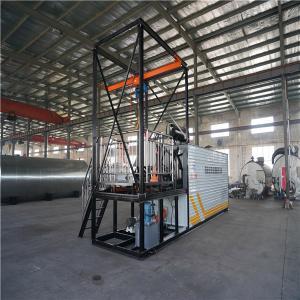 China Large Bitumen Spraying Machine , 5 Tons / Hour Drum Decanting Equipment wholesale