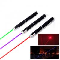 China OEM Lightweight Green Laser Pointers Presenter Remote Lazer 155*14mm Size wholesale