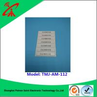 China OEM 58khz Retail Alarming Magnetic Security Strips / Security Alarm Tag wholesale