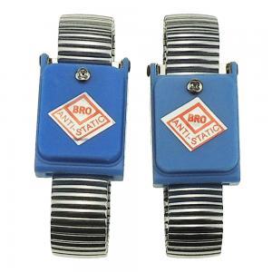 China PVC PU Coil 0.1s Static Dissipative ESD Wrist Strap wholesale