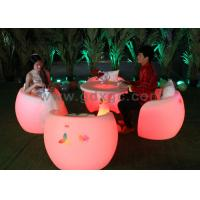 China Fashion Durable Outdoor Chairs And Stools Illuminated Led Furniture wholesale