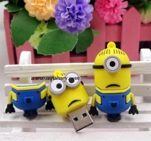 China Cute design Cartoon minion usb flash drive for Despicable Me USB wholesale