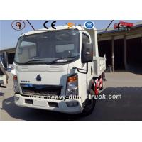 Buy cheap 3-5 Ton Sinotruk Howo Light Duty Van Cargo Mini Truck 4x2 6 Wheel Lorry Truck from wholesalers