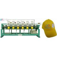 "China 6 Head 9 Needle Tubular Embroidery Machine With Dahao 5"" LCD Monitor wholesale"