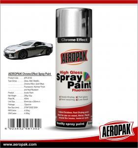 Buy cheap AEROPAK400ml Hot Sales Fast Dry Aeropak Mirror chrome spray paint t for Coating from wholesalers