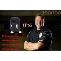 China Law Enforcement 140 Degree 1296p 4g Body Camera IP65 Waterproof With Night Vision wholesale