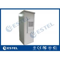 China Air Conditioner Integrated Galvanized Steel Outdoor Battery Cabinet With Three Battery Layers wholesale
