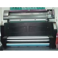 China Automatic 3.2M Dye Sublimation Fabric Printer / Digital Fabric Printing Machines wholesale