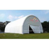 Buy cheap Outdoor White PVC Tarpaulin Inflatable Party Tent for party event from wholesalers