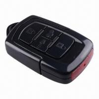China Full HD 1,080 Pixels IR Spy Car Key Chain Camera, DVR and Night Vision Motion Detection 8G wholesale