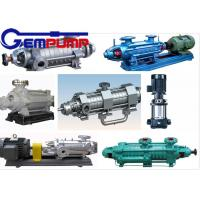 China DG 85-67 Multistage High Pressure Pumps single-suction / boiler water feed pump wholesale