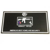 Quality Long Strip Bar Counter Rubber Mats Customized Design Pattern 1cm Thickness for sale