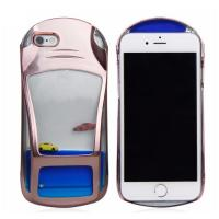 China Liquid Mobile phone case for iPhone5/ 6/6 plus in car shape in 3 colors wholesale