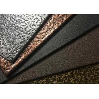 China Epoxy Polyester Crack Textured Powder Coat With High Temperature Resistance wholesale