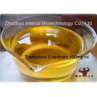 China Injection Bodybuilding Supplements Trenbolone Enanthate 100mg/Ml Finished Yellow Oil CAS 2322-77-2 wholesale