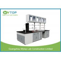 China High Temperature Resistance Metal Laboratory Furniture , Chemistry Lab Tables on sale