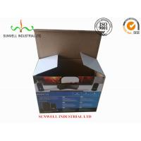 China K9 Reinforced Electronics Product Packaging Boxes Spot UV Finished Varnish Film wholesale