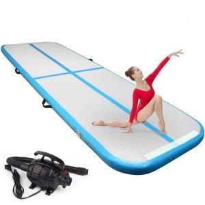 China Multi Functional Inflatable 20cm Air Floor Gymnastics Mat wholesale