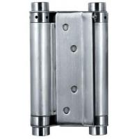 China Satin Stainless Steel Square Door Hinges Double Action Spring Door Hinge wholesale