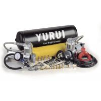 China Dual Onboard Air System 12 Volt Silver Black Color With Air Tanks Fast Inflation Air Compressor For 4x4 wholesale