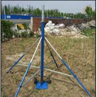 China Push-up Telescopic Mast 3--18m telescopic antenna towers and lightweight antenna mast  with tripod stand trolley base on sale
