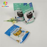 China Doypack Resealable Ziplock Standing Up Aluminum Foil Bags Cookies Packaging wholesale
