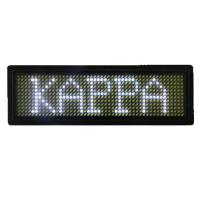 China Rechargeable Moving LED Name Badge Programmable Display B1248 / M1248 wholesale
